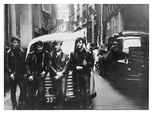 beatles at the cavern 1961
