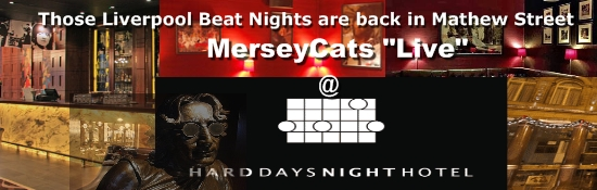 merseycats live at the hard days night hotel