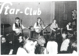 dave myers with the pawns at the star club